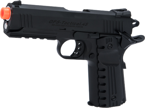 Matrix Tactical 4.3 1911 Gas Blowback Airsoft Pistol (Color: Black / Type B)