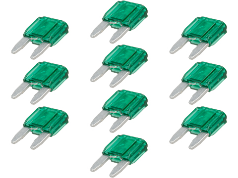 6mmProShop Fuse for Airsoft AEG Rifles (Type: 30A / Mini / Pack of 10)