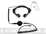 Code Red Headsets Assault Modular Throat Microphone w/ Waterproof PTT (Connector: Kenwood 2-Pin)