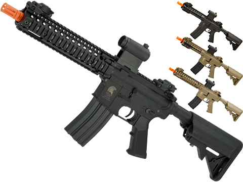 Matrix Sportsline M4 Airsoft AEG Rifle w/ G2 Micro-Switch Gearbox (Model: Black RIS 9)