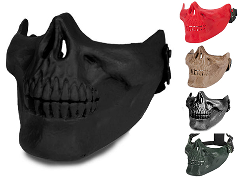 Avengers Skull Iron Face Lower Half Mask