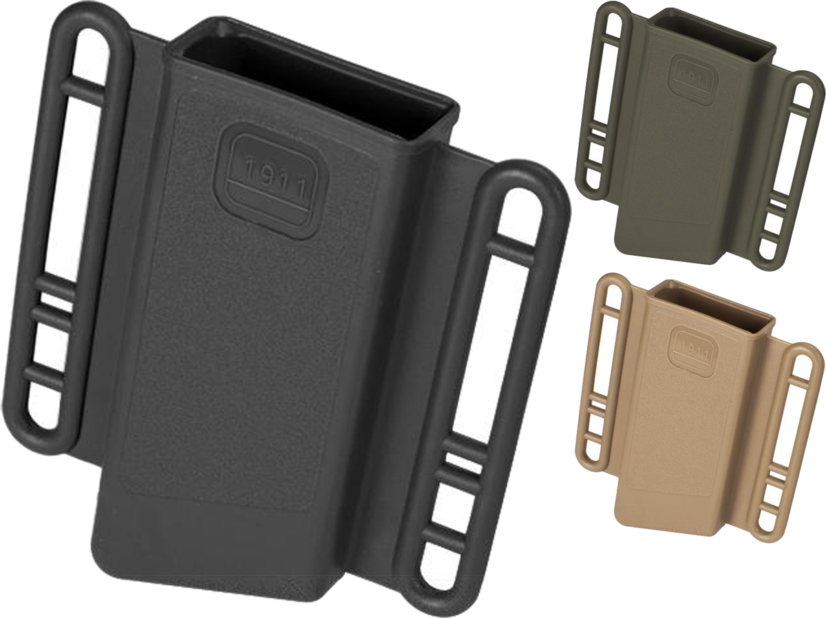 Avengers Mag Holster for Airsoft 1911 (Single Stack) Series Magazines - Set of 2