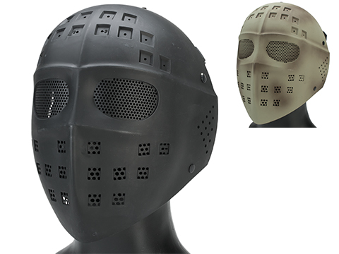 Avengers Wire Mesh Polymer Hockey Airsoft Full Face Mask