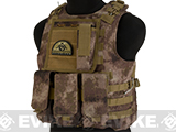Avengers Military Style MOD-II Quick Release Body Armor Vest (Color: Arid Camo)