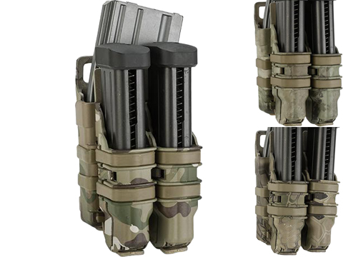 Avengers Fast Hard Shell Magazine Holster - 1x Rifle 2x Pistol Configuration