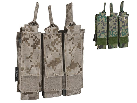 Avengers Tactical MOLLE Triple SMG Magazine Pouch (Color: AOR1)