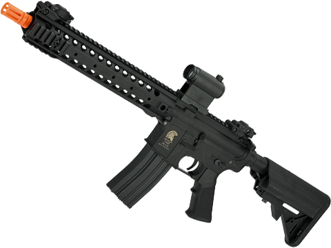 Matrix Molon Labe Lipo Ready Airsoft AEG Rifle w/ G2 Micro-Switch Gearbox (Model: Black URX 12 / Gun Only)