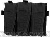 Crye Precision AVS Detachable Flap M4 Magazine Pouch - Black