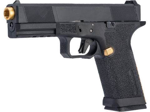 EMG SAI BLU w/ EMG Tier One Utility RMR-Cut Slide GBB Airsoft Pistol (Color: Gold / Standard)
