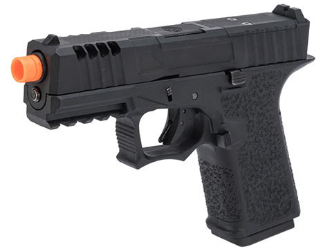 AW Custom VX9 Compact Series Gas Blowback Airsoft Pistol (Model: Z80 - Optic Ready / Black)