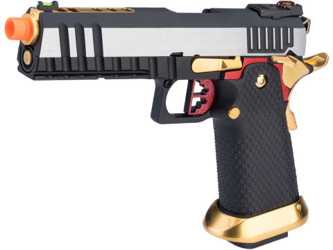AW Custom Ace Competitor Hi-CAPA Gas Blowback Airsoft Pistol (Package: Two-Tone / Gun Only / Green Gas)