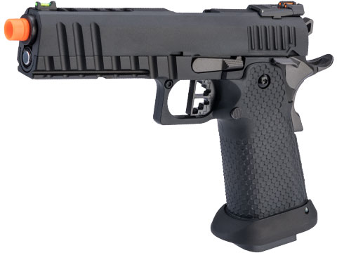 AW Custom Ace Competitor Hi-CAPA Gas Blowback Airsoft Pistol (Package: Black / Gun Only / Green Gas)