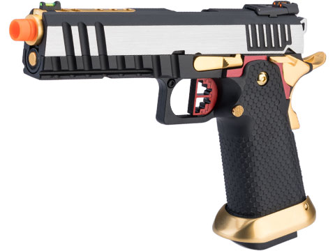 AW Custom Full Auto Competitor Hi-CAPA Gas Blowback Airsoft Pistol (Package: Two-Tone / Gun Only / Green Gas)