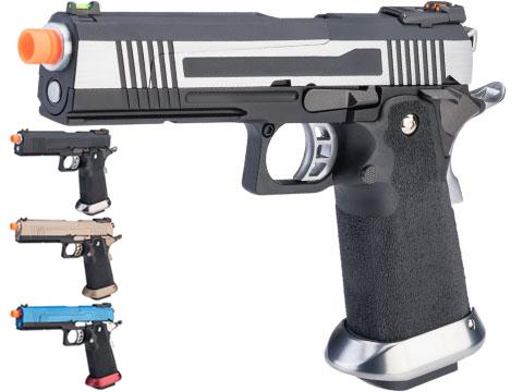 AW Custom HX10 Split Frame Hi-Capa Full Auto Select Fire GBB Pistol