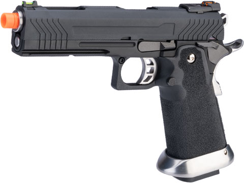 AW Custom HX11 Hi-Capa Competition Grade Full Auto Select Fire GBB Pistol (Color: Black)