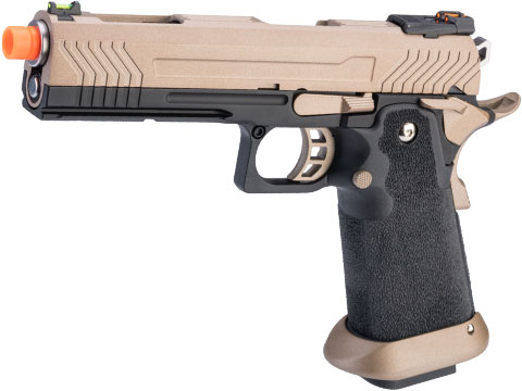 AW Custom HX11 Hi-Capa Competition Grade Full Auto Select Fire GBB Pistol (Color: Flat Dark Earth)