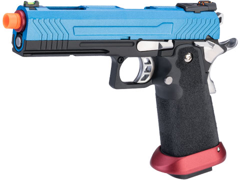 AW Custom HX11 Hi-Capa Competition Grade Full Auto Select Fire GBB Pistol (Color: Patriot)