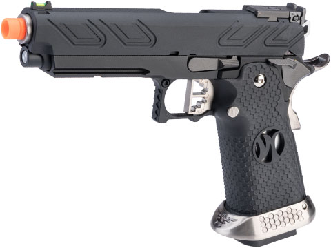 AW Custom HX23 4.3 Hi-Capa Competition Grade Full Auto Select Fire GBB Pistol (Color: Black)
