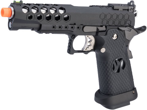 AW Custom HX25 Hi-Capa Competition Ready Full Auto Select Fire GBB Pistol (Color: Black)