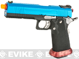 AW Custom Split Frame Hi-Capa Competition Grade Gas Blowback Airsoft Pistol (Color: Patriot)