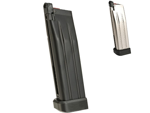 AW Custom Spare CO2 Magazine for HI-CAPA Gas Blowback Airsoft Pistols (Color: Black)