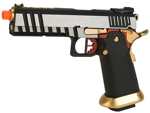 AW Custom Competitor Hi-CAPA Gas Blowback Airsoft Pistol (Package: Two-Tone / Gun Only)