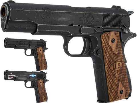 Auto-Ordnance Custom 1911 Gas Blowback Pistol Licensed by Cybergun