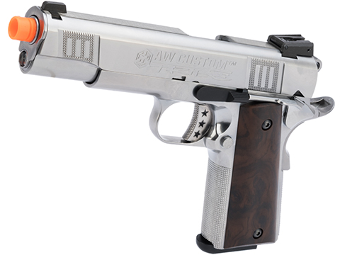 AW Custom NE30 Tribe Series 1911 GBB Pistol (Color: Silver)