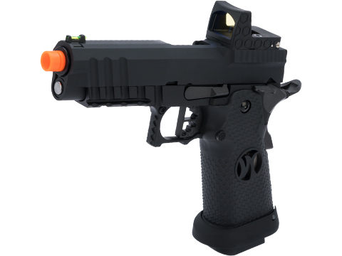 AW Custom HX26 Match King Compact Hi-CAPA Gas Blowback Airsoft Pistol (Color: Black)