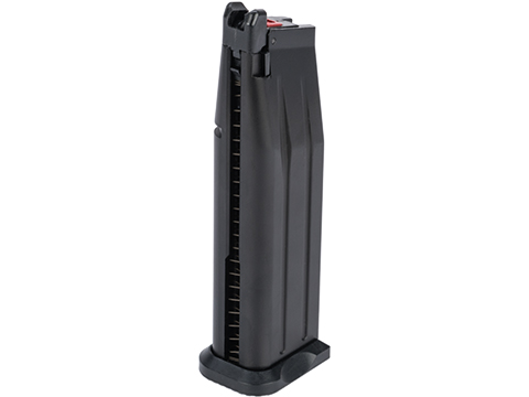 EMG SAI Licensed 30 Round Magazine for SAI RED-H & HI-CAPA 2011 Gas Airsoft Pistol (Color: Black / Green Gas)