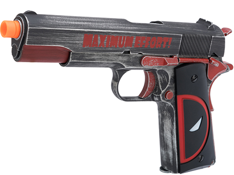 AW Custom Maximum Effort 1911 Gas Blowback Airsoft GBB Pistol (Model: Deceased Puddle)