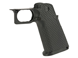 AW Custom HX Grip Kit for Hi-Capa Series Gas Blowback Airsoft Pistols - Black