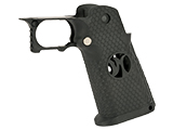 AW Custom HX -00002 Grip Kit for Hi-Capa Series Gas Blowback Airsoft Pistols - Black
