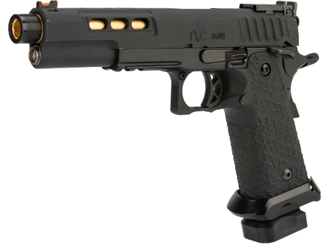 EMG / STI International DVC 3-GUN 2011 Airsoft Training Pistol (Model: Threaded Barrel / Green Gas)
