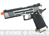 AW Custom Split Frame Hi-Capa Competition Grade Gas Blowback Airsoft Pistol (Color: Two-Tone)