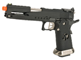 AW Custom AW-HX2202 Gold Standard IPSC Gas Blowback Airsoft Pistol (Color: Black)