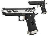 AW Custom HX23 Strike Queen Hi-Capa Gas Blowback Airsoft Pistol (Color: Two-Tone)