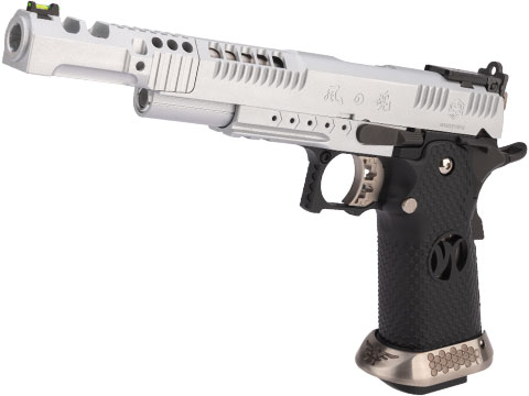 AW Custom Japanese Spec HX24 Wind Velocity IPSC Gas Blowback Airsoft Pistol (Color: Silver)