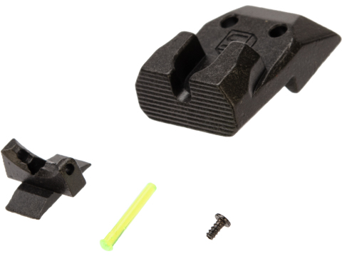 AW Custom Fiber Optic Sight Set for EMG / SAI DS 2011 Gas Blowback Airsoft Pistol