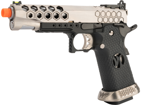 AW Custom HX25 Full Metal Competition Ready Gas Blowback Airsoft Pistol (Color: Silver)