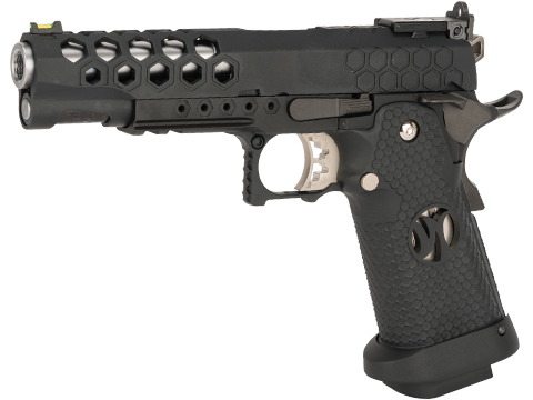 AW Custom HX25 Full Metal Competition Ready Gas Blowback Airsoft Pistol (Color: Black)