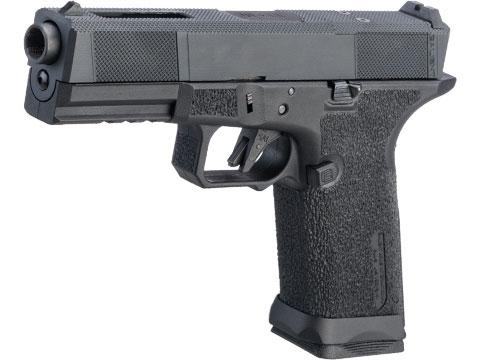 EMG SAI BLU w/ EMG Tier One Utility RMR-Cut Slide GBB Airsoft Pistol (Color: Blackout)