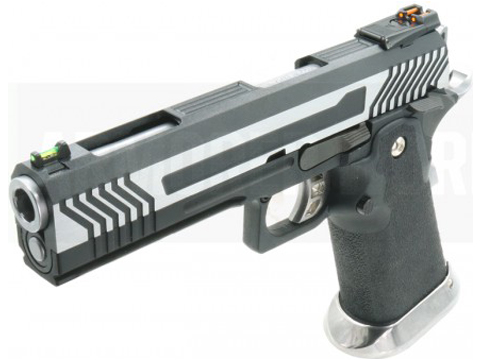 AW Custom HX1101 Full Metal Blowback 4.5mm CO2 Powered Airgun (Color: Two Tone)