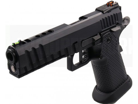 AW Custom HX1101 Full Metal Blowback 4.5mm CO2 Powered Airgun (Color: Black)