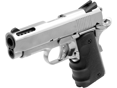 AW Custom NE10 Series 1911 Officer Size GBB Pistol (Color: Silver)