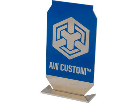Evike.com / AW Custom ePopper Practical Shooting Popper Targets (Package: AW Custom Logo x1 / Blue)