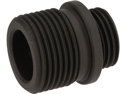 EMG / AW Custom / WE / TM Threaded Adapter for GBB Pistol Outer Barrels (Color: Black)