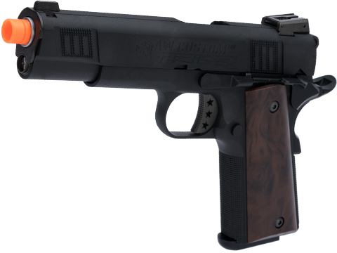 AW Custom NE30 Tribe Series 1911 GBB Pistol (Color: Black)