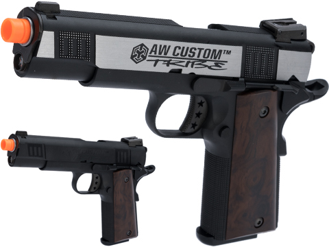 AW Custom NE30 Tribe Series 1911 GBB Pistol (Color: Two-Tone)