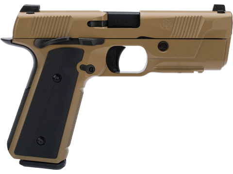 EMG / Hudson™ H9 Gas Blowback Airsoft Parallel Training Pistol (Color: Flat Dark Earth / Green Gas)